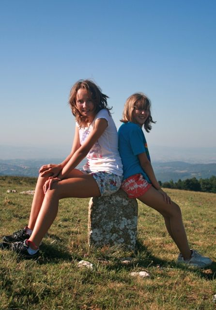 On the summit of Monte Tezio in Umbria