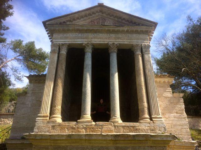 The Tempietto del Clitunno