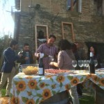 Wine tasting at the Bianchini winery in Umbria