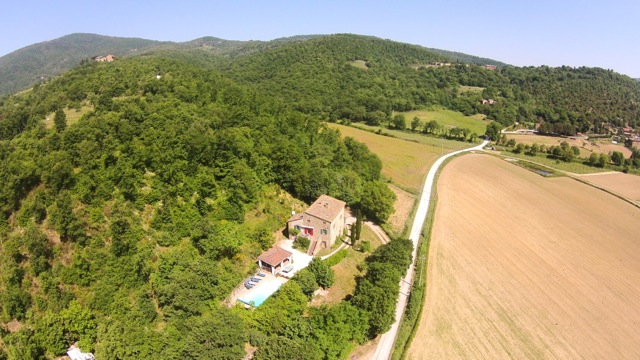 Casa Gorgacce is in the beautiful Niccone Valley