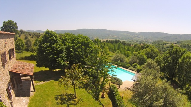Casa del Lupo and the Pian di Marte, Umbria, Italy