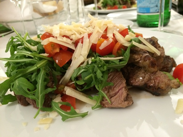 Tagliata at La Logge Restaurant in Citta di Castello