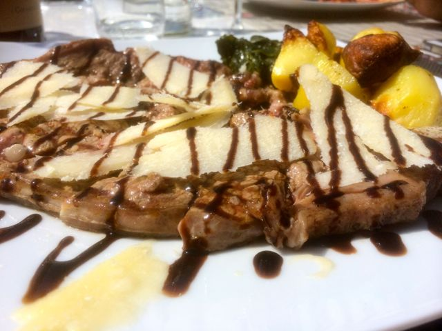 Chiannina Steak at I Girasoli di sant'Andrea Restaurant
