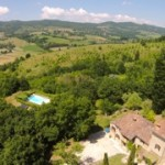 Ca di Bracco, vacation villa on the Tuscany Umbria border, Italy