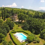 villa luxury all day sun heated pool wifi Tuscany cortona