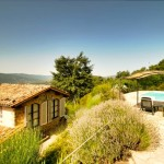 Ca de Bondanza, small holiday villa, Tuscany Umbria border, Italy