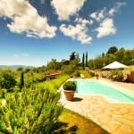 Ca de Muito, small villa, Tuscany Umbria Border, Italy