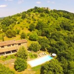 Castellino, vacation villa on the Tuscany Umbria border, Italy