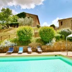 L'Antica Sorgente, Villa on the Tuscany Umbria border with pool