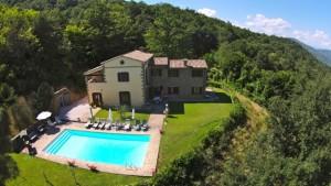 Villa Forconi, Luxury vacation home, Tuscany Umbria border, Italy
