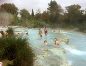 Hot springs Saturnia, Tuscany