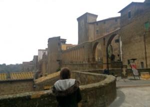 Pitigliano, hill town in Tuscany