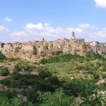 Pitigliano, a small town in southern Tuscany