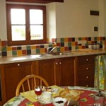 Casa Cordino Kitchen, Holiday Apartment, Tuscany Umbria Border, Italy