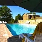 Casa Cordino, Sun loungers By Pool