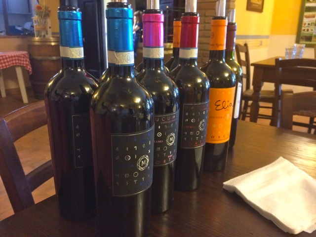 The wines from the Mezzetti Winery are grown in both Tuscany and Umbria