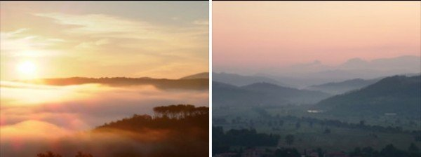 Sunrise At Le Sette Vene, Large Villa / Holiday Apartments On The Tuscany Umbria Border, Italy