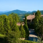 Garden View From San Nicolò, Holiday Villa On The Tuscany Umbria Border, Italy