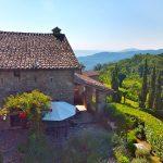 Casa SantAnna, Vacation Villa. View Over The Hills of The Tuscany Umbria Border