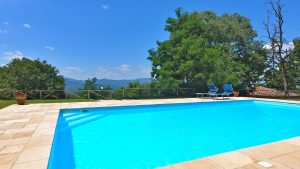 The Swimming Pool, Casa della Maestra Holiday Villa Tuscany Umbria Italy