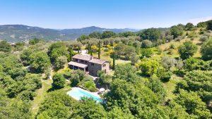 Castellino, Swimming Pool, Garden & View Of Niccone Valley